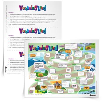 VocabGirl Vocabulary Land