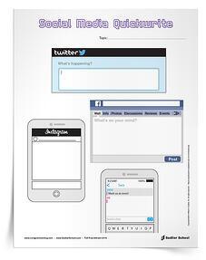social-media-quickwrite