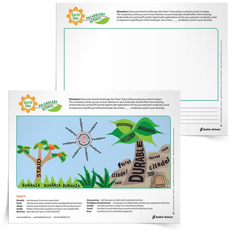 Earth-Day-Vocabulary-Activity
