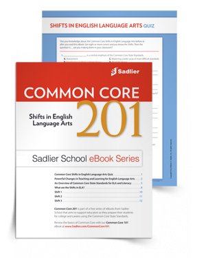 Common Core 201: Shifts in English Language Arts eBook