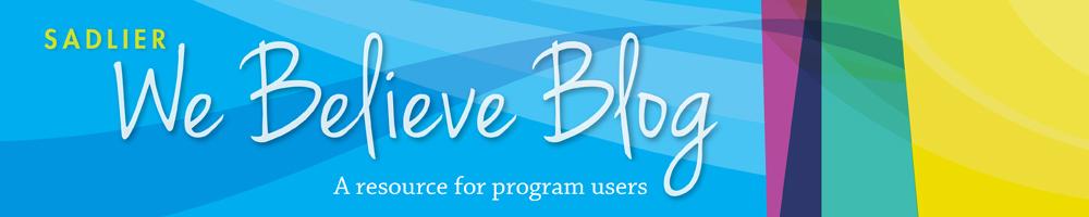 We Believe Blog