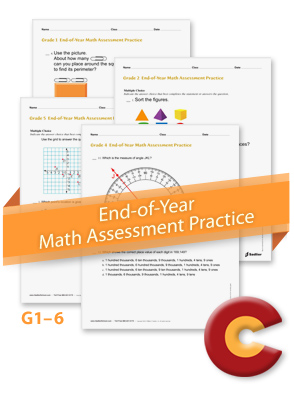 End of Year Math Assessments