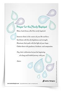 Prayer for Newly Baptized