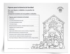 Luego, envíe la receta y las instrucciones para hacer estas figuras en la casa con los niños y las puedan compartir con los familiares durante la temporada navideña.