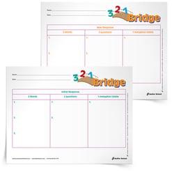 3 2 1 Bridge Graphic Organizers 15 Download Sadlier School