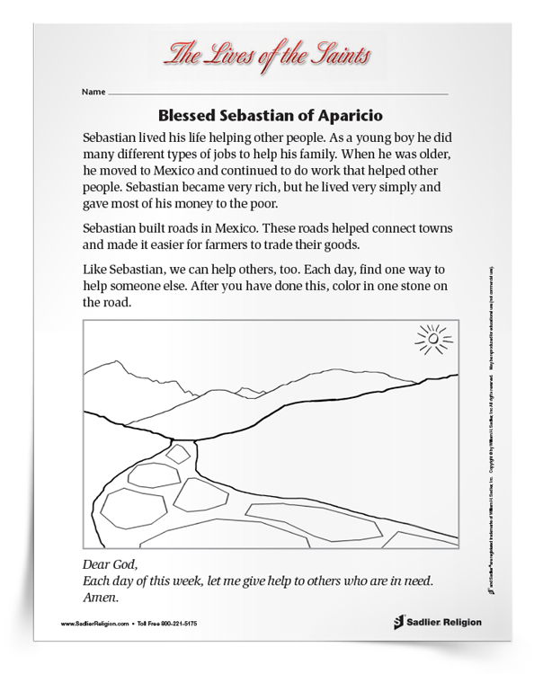 blessed-sebastian-of-aparicio-activity-download