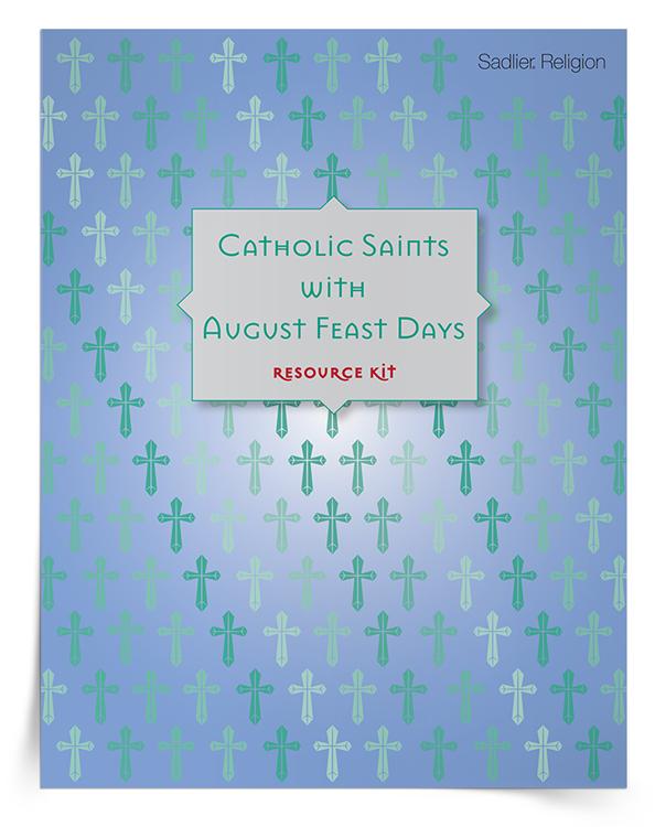 Catholic-Saints-with-August-Feast-Days-Kit