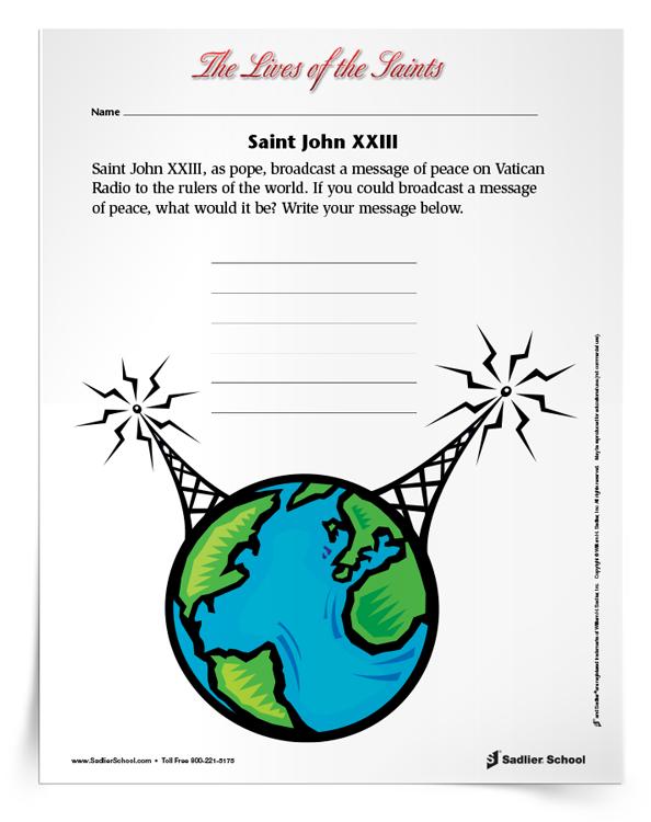 Saint-John-XXIII-Activity