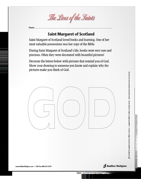 Saint-Margaret-of-Scotland-activity-download