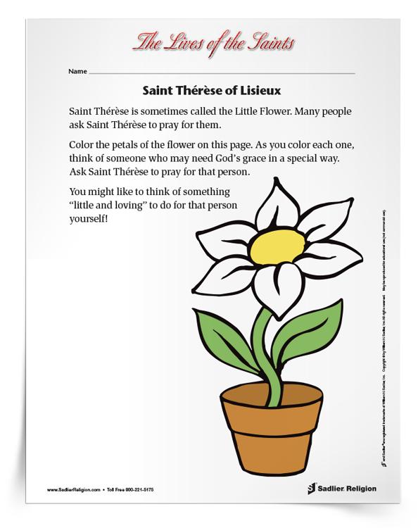 Saint-Thérèse-of-Lisieux-Activity