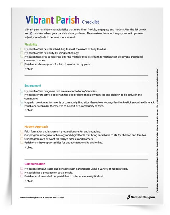 Vibrant-Parish-Checklist