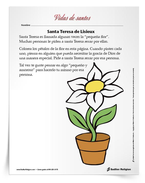 Actividad-Santa-Teresa-de-Lisieux