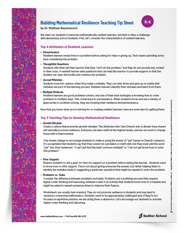 Building-Mathematical-Resilience-Teaching-Tip-Sheet