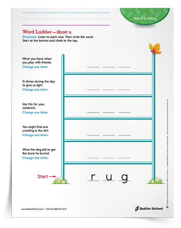 word-ladder-short-u-activity-grades-1-3-download
