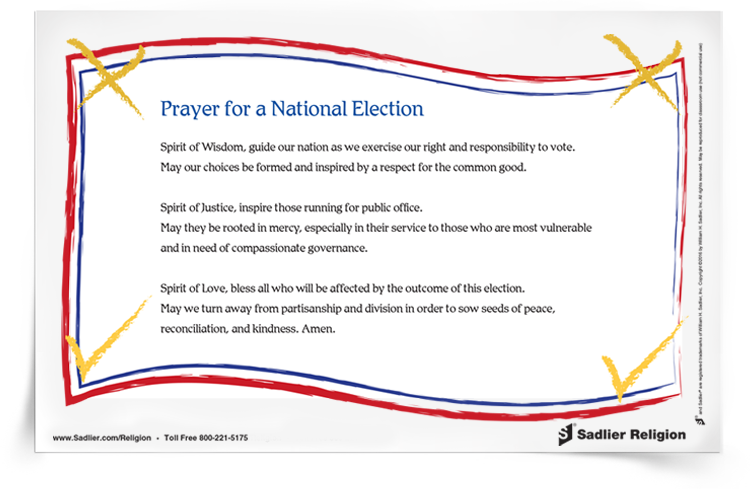 Prayer for a National Election